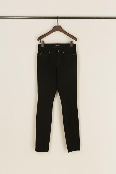Skinny-Jeans 'Parla' Schwarz