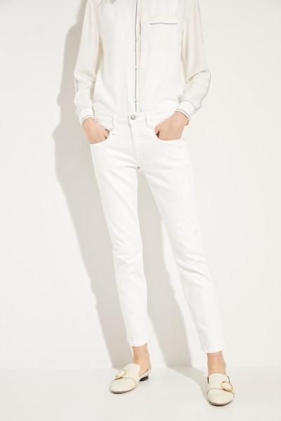 Jeans 'Boy Skinny' Crèmeweiß