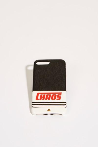 IPhone Case 7/8+ mit Logo-Schriftzug Schwarz/Multi