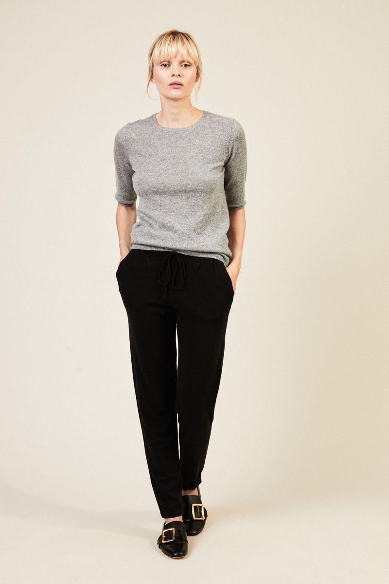 Cashmere-Pullover 'Carolin' Grau