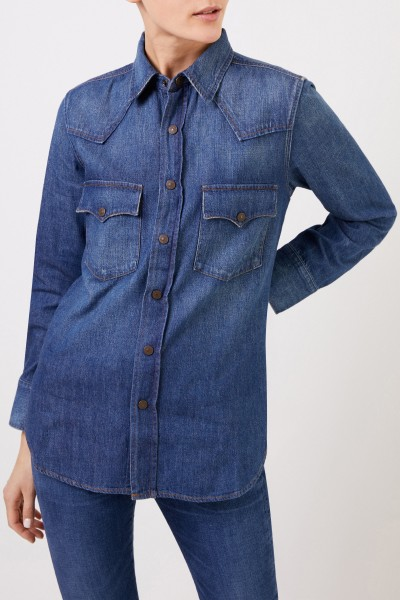 Citizens of Humanity Jeans blouse 'Viola' Blue