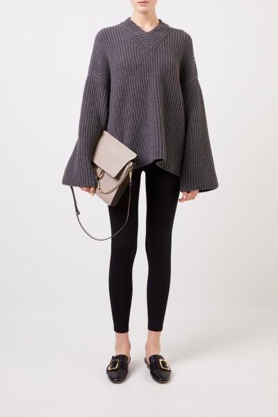 Nanushka Oversize Woll-Pullover 'Mello' Anthrazit