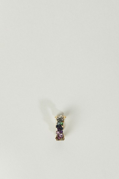 Ear Cuff 'Mirian' Gold/Multi