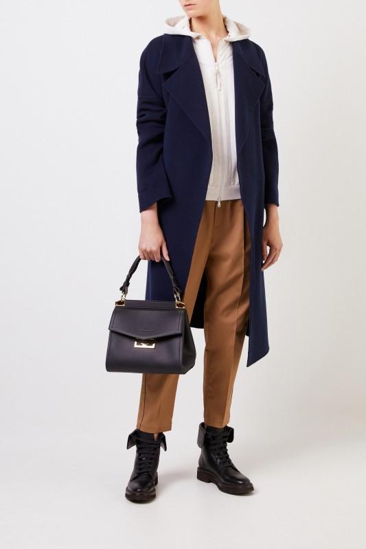 Brunello Cucinelli Baumwoll-Jacke mit Kapuze Beige