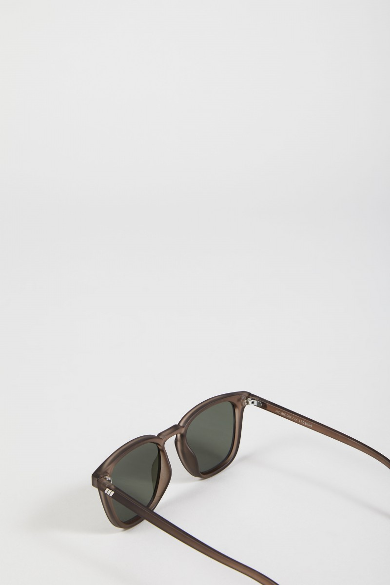 Sonnenbrille 'No Biggie' Matte Pebble/Khaki