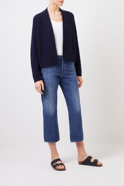 High-Rise Jeans 'Emery' Blau