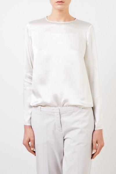 Fabiana Filippi Seiden-Shirt Champanger