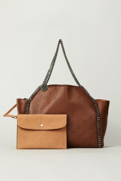 Wende-Shopper mit Stella-Logo 'Tote Bag' Cognac