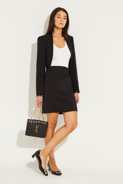 Givenchy Skirt with button detail Black