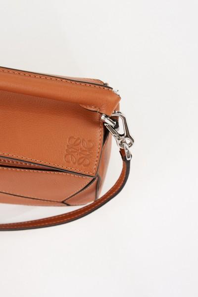 Loewe Bag 'Puzzle Bag Mini' Tan
