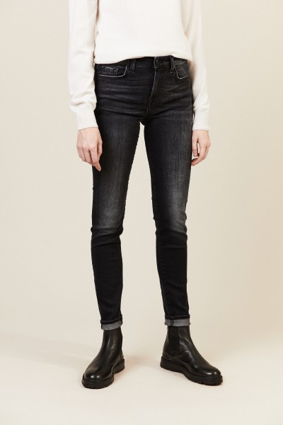 Jeans 'HW Pyper Slim Illusion Rock' Anthrazit