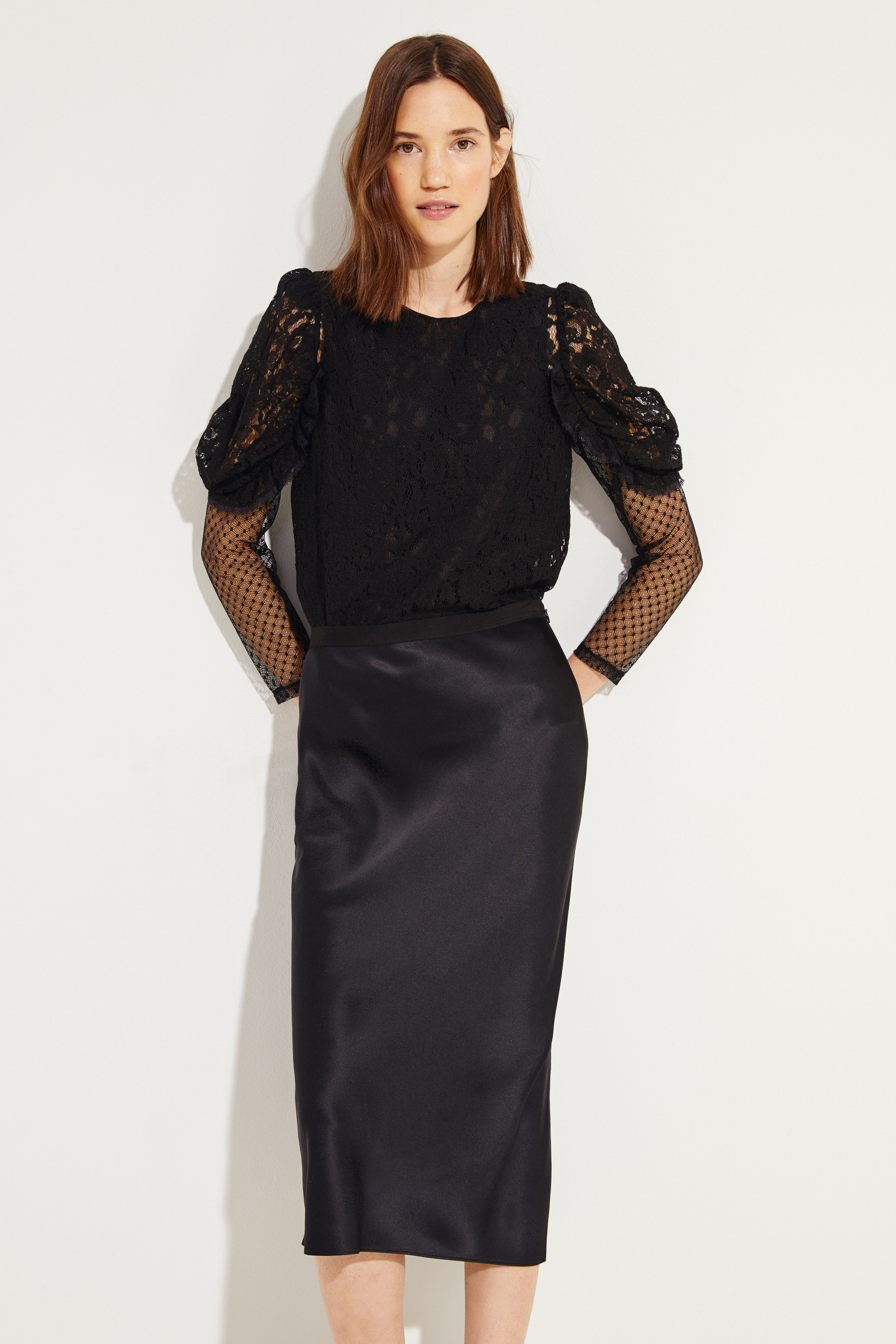Lace Blouse Black Blouses And Shirts Tops Clothing