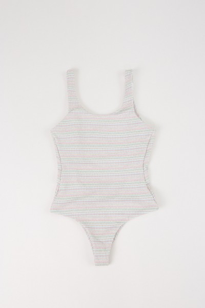 Swimsuit 'For A Rainy Day' with lurex details Multi