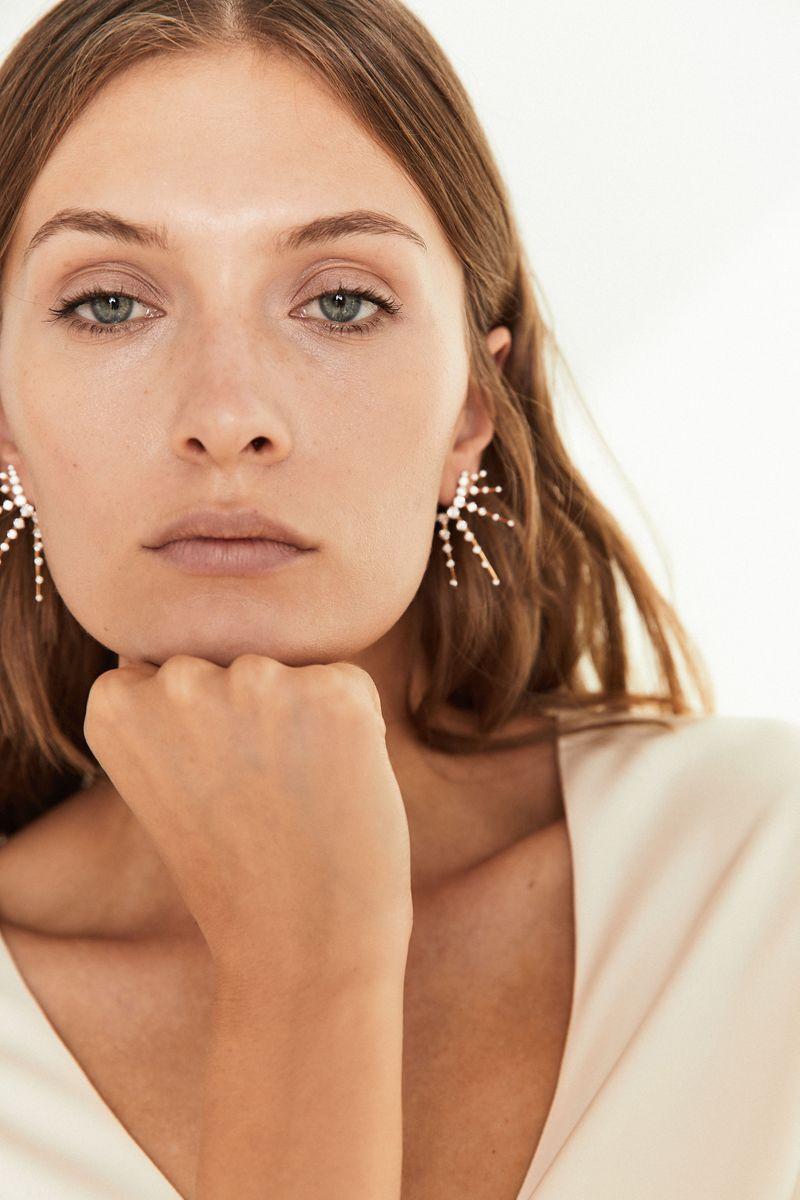 Ohrstecker 'Radiant Earrings' mit Diamanten Gelbgold