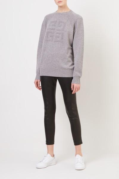 Leather pants 'Simone' Black