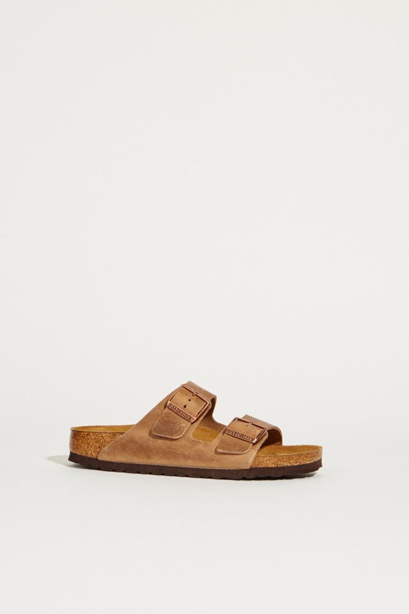 Sandale 'Arizona' Braun