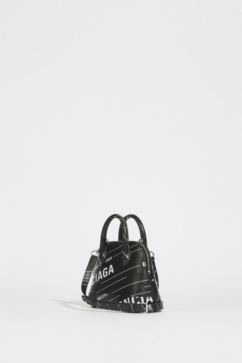 Tasche 'Ville XS' Schwarz/Weiß