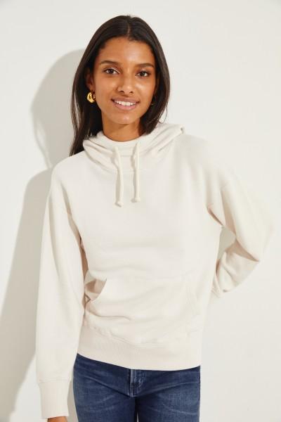 Sweatshirt mit Kapuze Beige