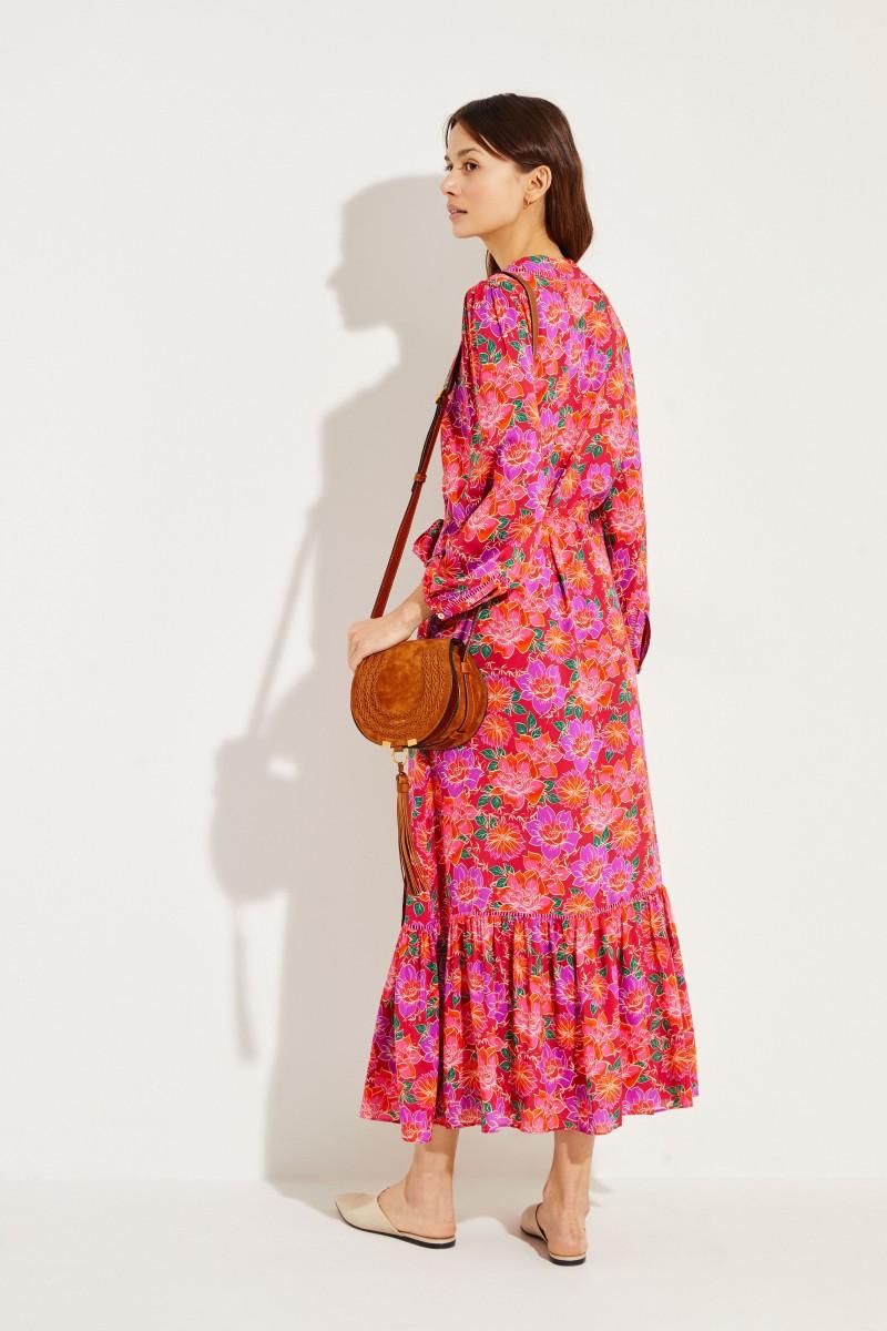 Gemusterter Kimono 'Bowie' Multi