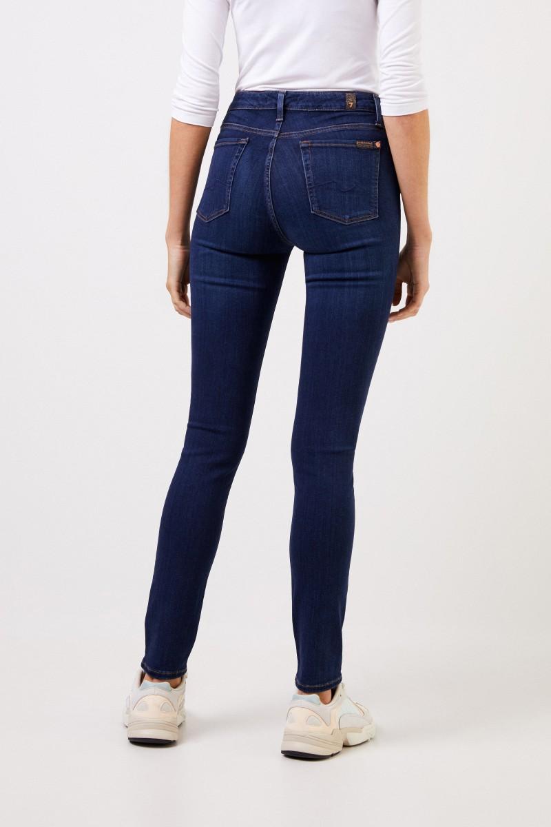 7 for all mankind Skinny-Jeans 'Pyper' Blau