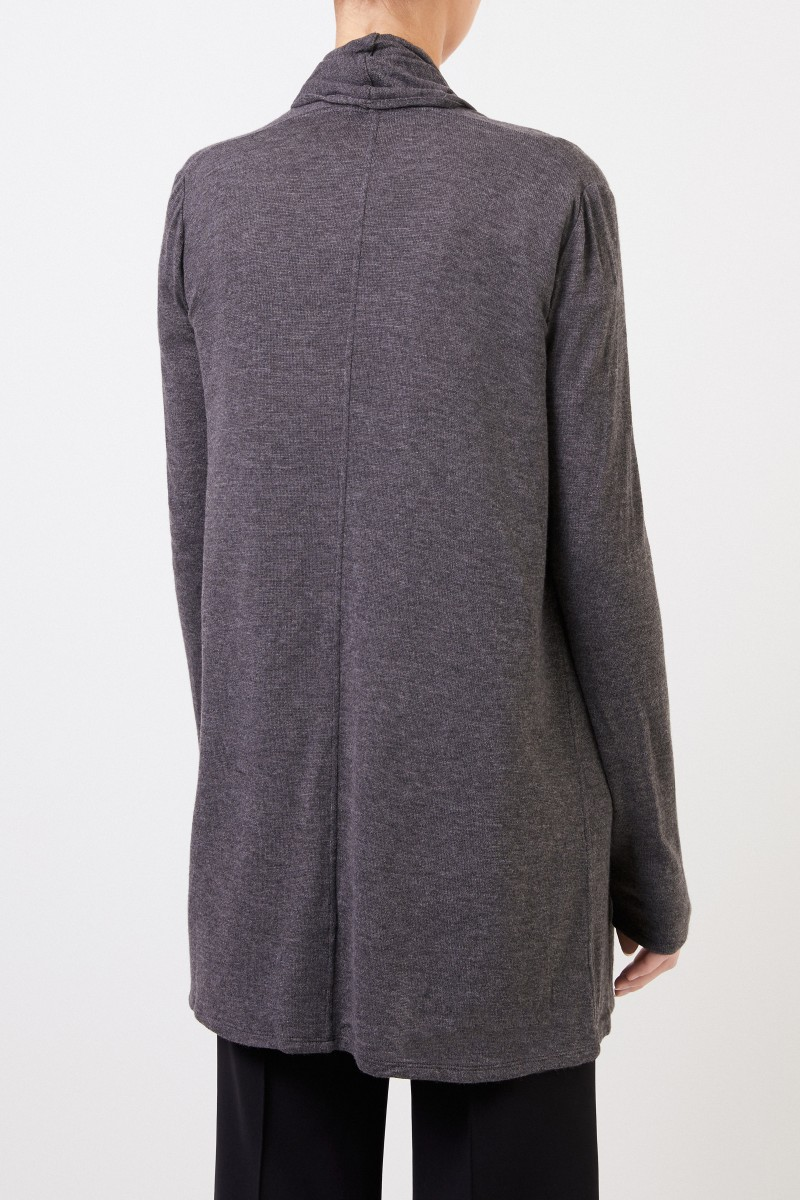 The Row Langer Cardigan 'Knightsbridge' Grau