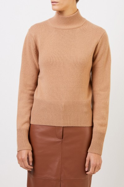 Iris von Arnim Cashmere-Sweater turtleneck Camel