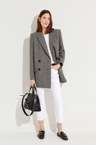 Givenchy Checked wool blazer Black/Grey