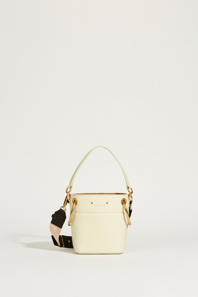 Shopper 'Roy Bucket Mini' Natural White