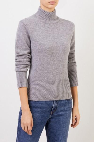 Iris von Arnim Cashmere-Pullover 'Caiola' mit Turtleneck Grau