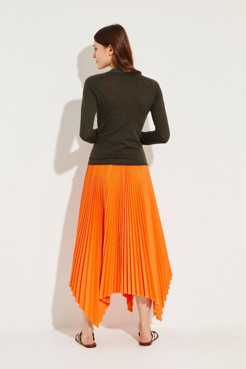 Woll-Pullover 'Pamela' Grün