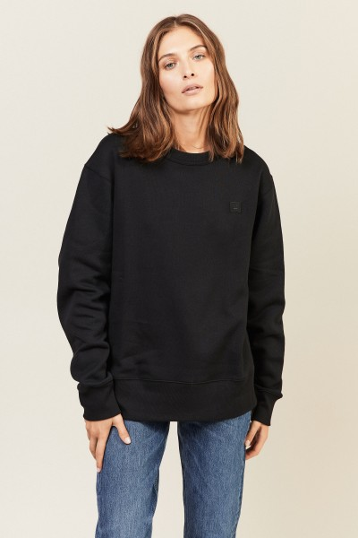 Sweatshirt 'Fairview Face' Schwarz