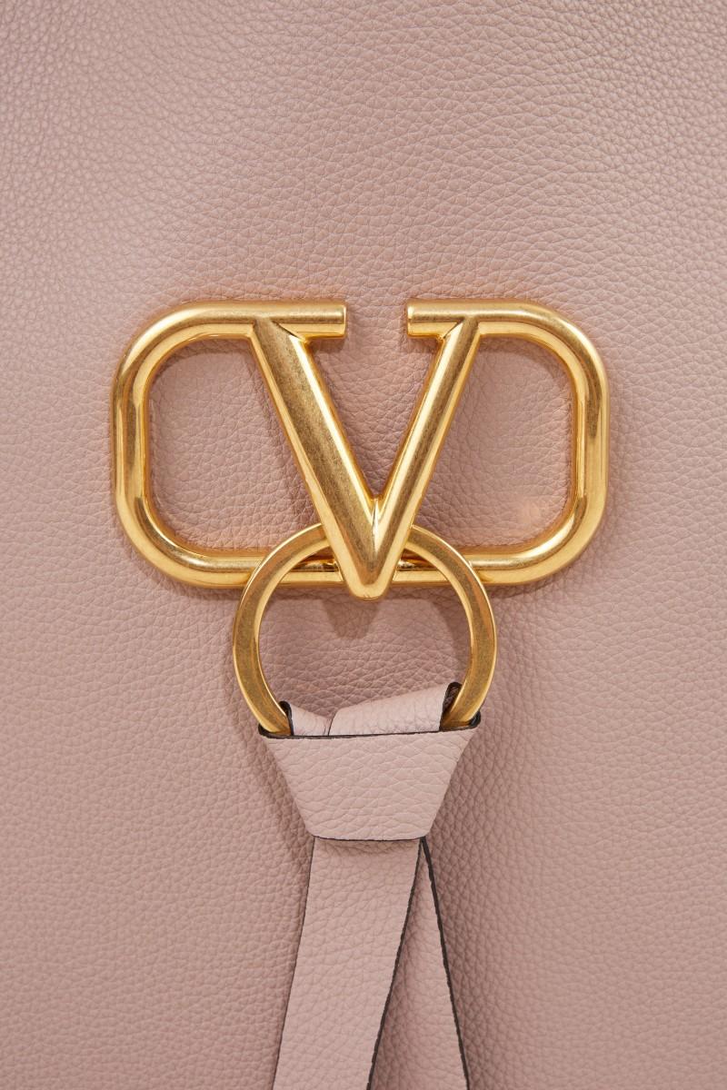 Valentino Shopper mit Logo Puder