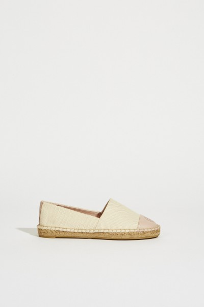 Espadrille with Kaormuster White/Rosé