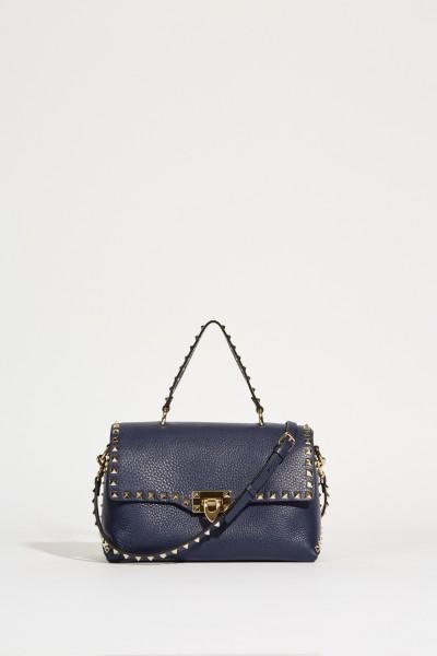 Handtasche 'Rockstuds' mit Nieten Marineblau