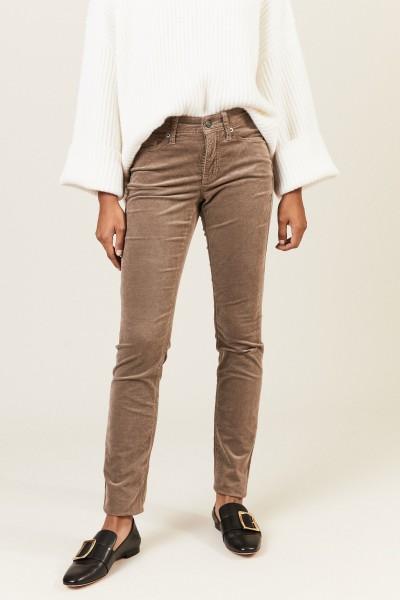 Skinny-Jeans 'Parla' Braun