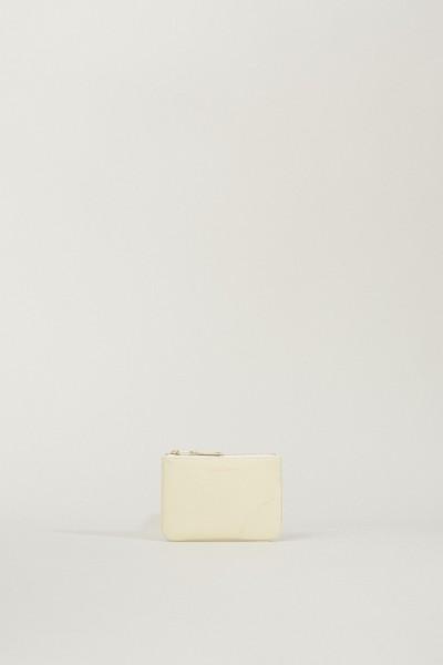 Kleines Portemonnaie Crèmeweiß