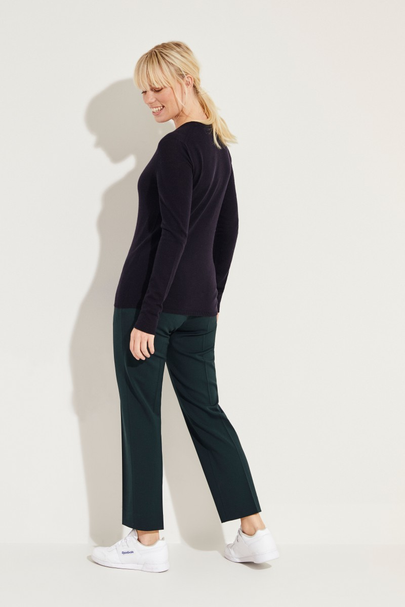 Cashmere-Pullover 'Riverstone' Blau