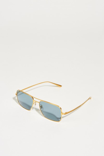 Sonnenbrille x The Row 'Victory L.A.' Gold/Blau
