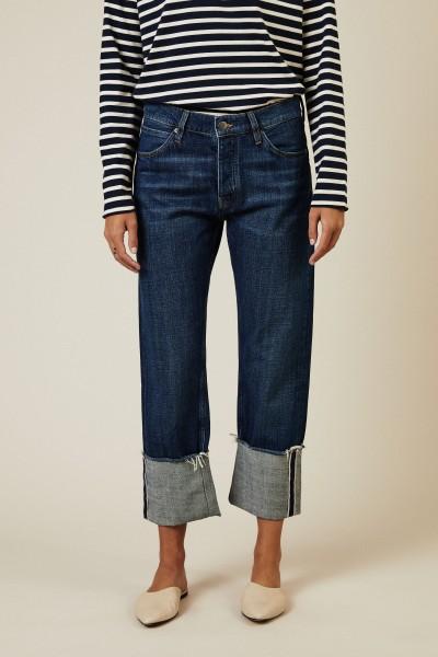 Boyfriend Jeans 'Phoebe' Blau