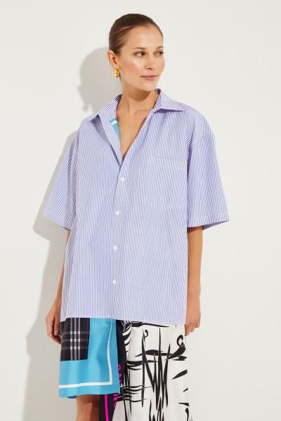 Oversized Shirt Dress Multi