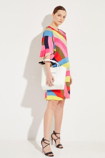 Kleid mit Ärmel-Detail Multi