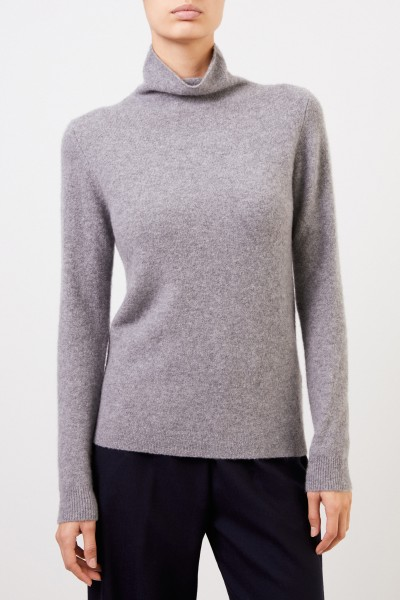 Allude Cashmere-Sweater turtleneck in Grey