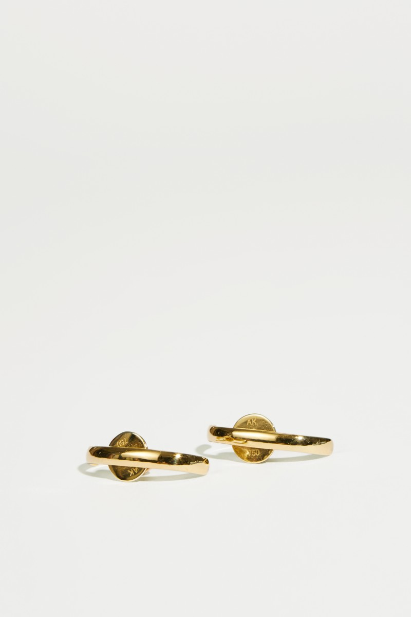 Ohrringe 'Mirian' Gold