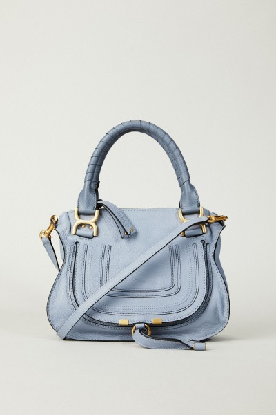 Handtasche 'Marcie Small' Washed Blue