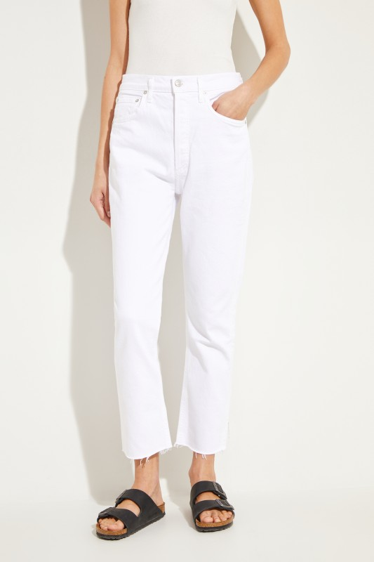 High Rise Jeans 'Riley' Weiß