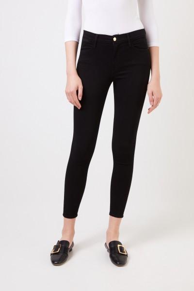 Frame Skinny-Jeans 'Le High Skinny' Schwarz