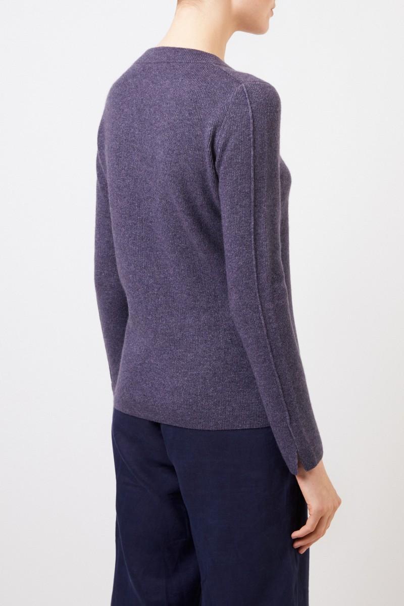 Iris von Arnim Cashmere-Seiden Pullover 'Talitha' Denim