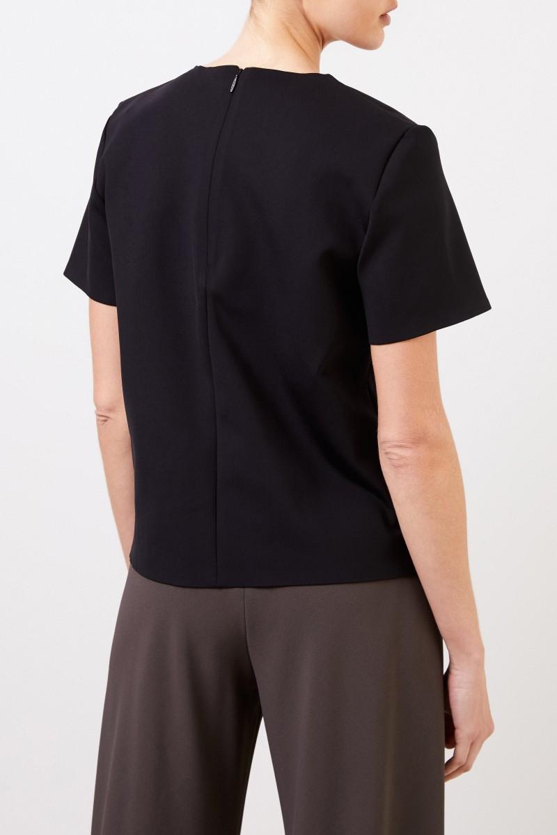 Kurzarm-Shirt 'Gaspar' Schwarz