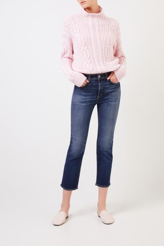 Rag&Bone Jeans 'Nina Highrise Ankle' Blau