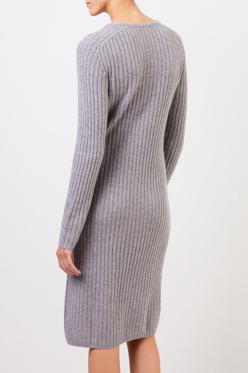 Cashmere-Strickkleid 'Christella' Grau